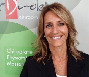 Sonia Pouliot, assistante chiropratique et massothérapeute
